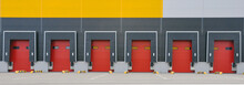 Innovative Logistic Warehouse Complex. Excellent Solution For Storing, Sorting And Transporting Products