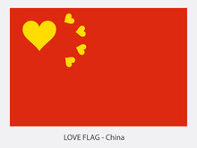 Love Flag China