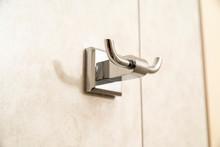 Chrome Towel Hook In The Bathr...