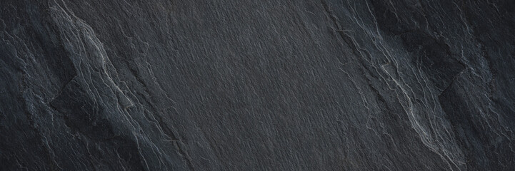 horizontal black stone texture for pattern and background