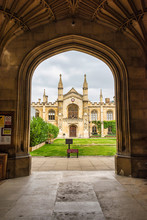 Corpus Christ College - Looking In Through The Main Gate