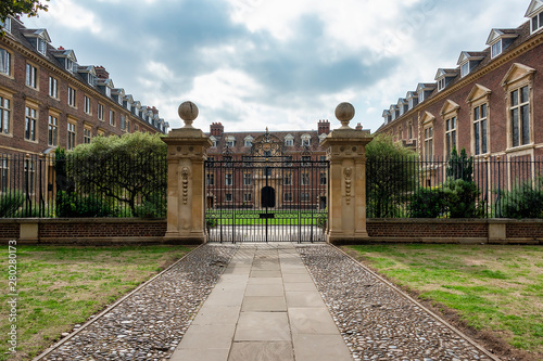 gates to St Catherine's College
