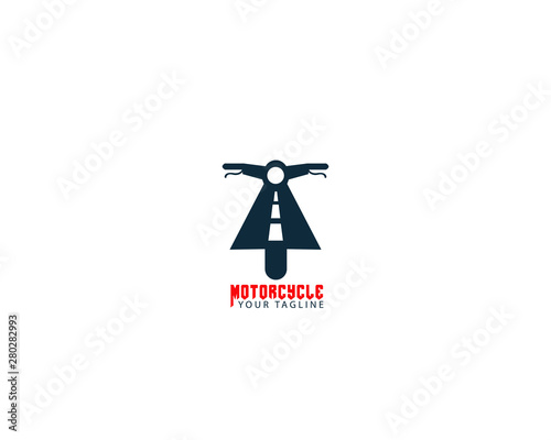 Creative and professional Motorcycle road Logo Wallpaper Mural