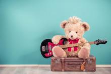 Retro Teddy Bear Toy With Hair...