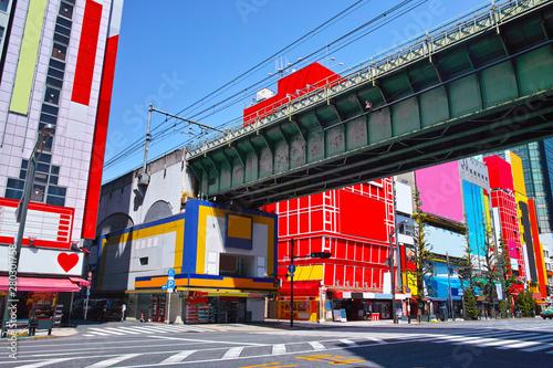 東京都千代田区の秋葉原電気街の風景 Wallpaper Mural
