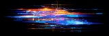 Światło LED. Efekt abstrakcyjny. Technologia przyszłości. Odblaskowe kostki. Cyfrowy sygnał procesora. Połysk siatki. Nowoczesne duże zbiory danych. Neonowa flara. System kwantowej sieci komputerowej. Kod magiczny. Siatka linii HUD. Urządzenie internetowe