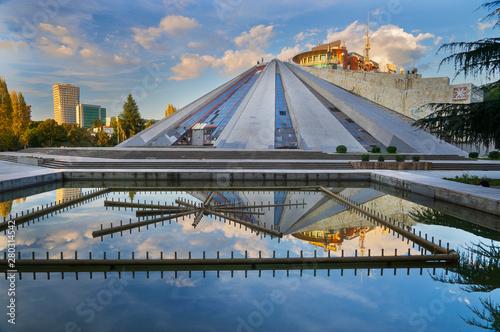 Photo The Uniquely Strange Pyramid of Tirana, Albania