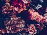 Fototapeta Bedroom - Artificial flowers