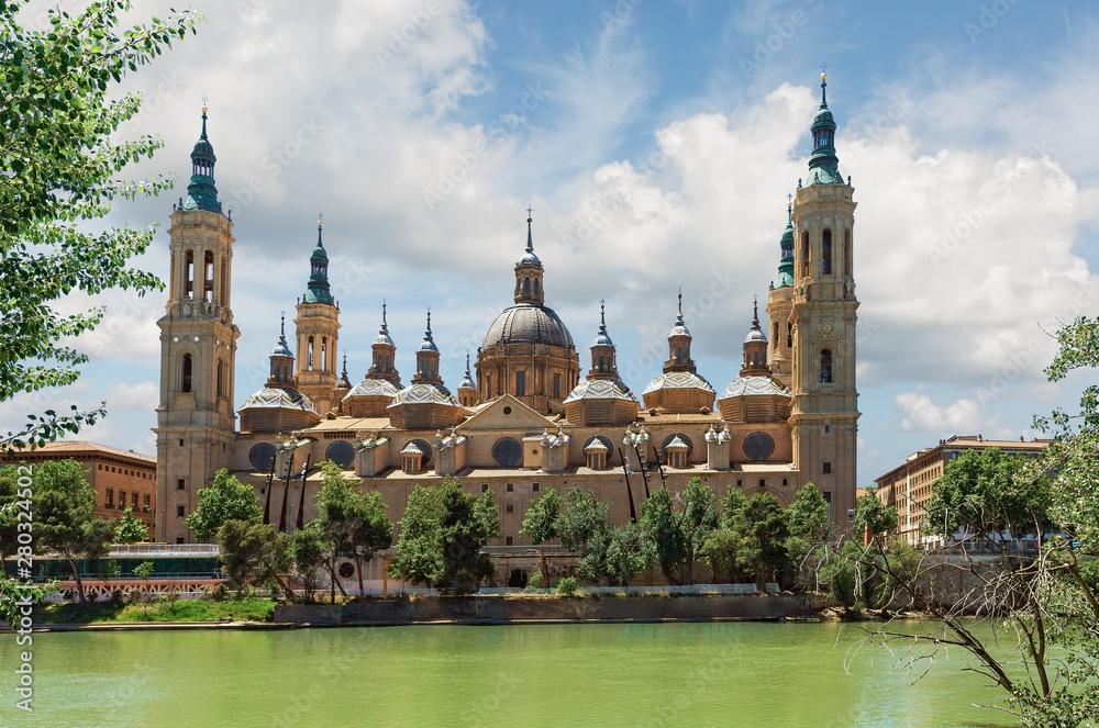 Fototapety, obrazy: Nuestra Señora del Pilar in Zaragoza
