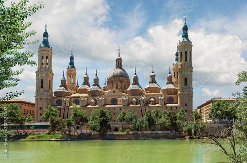 Tela Nuestra Señora del Pilar in Zaragoza