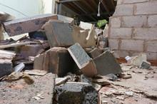 Demolished Breeze Block Interi...
