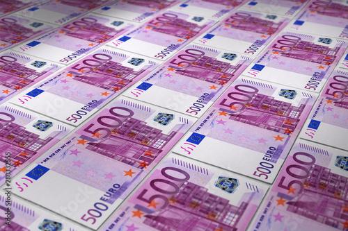 Papel de parede  Billets 500 euros