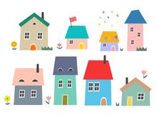 北欧の家々#3・アソート