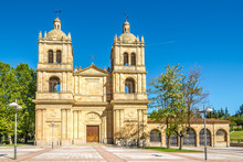View At The Arrabal Church In Salamanca - Spain