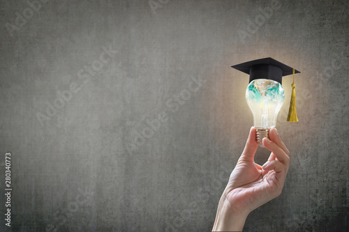 Fotografia Innovative learning, creative educational study concept for graduation and schoo