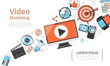 Flat Business Video Marketing Template