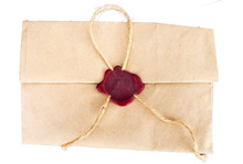 Retro Envelope Sealed With A S...