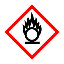 Pictogram For Oxidizing Substances