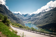 View From Eagle Road Geiranger