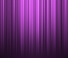 Purple Curtain Background. Gru...