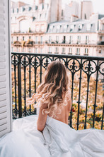 Waking Up On Balcony In Paris