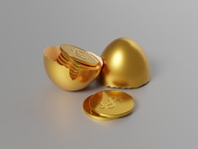 Gold Egg, Gold Coins