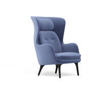 3d Rendering Of An Isolated Modern Wingback Armchair
