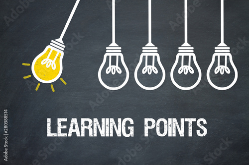 Photographie  Learning Points