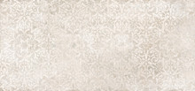 Beige Cement Damask Pattern Ba...