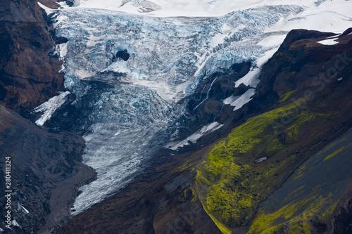 Glaciar Mýrdalsjökull. Sur de Islandia