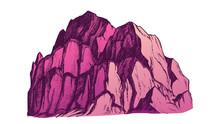 Peak Of Rocky Mountain Landsca...