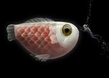 Fantasy Of Scuba Diver With Cu...