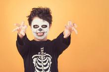 Happy Halloween. Funny Child I...