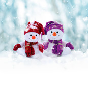 Two Little Snowmen The Girl An...