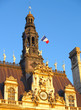 PARIS, FRANCE. City Hall fragment