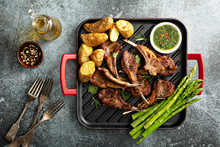 Grilled Lamb Chops With Green ...