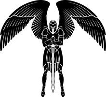 Archangel Warrior Guarding, Full Armor