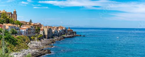 Ciudad Patrimonio de Humanida de Cefalu en Sicilia Italia Slika na platnu
