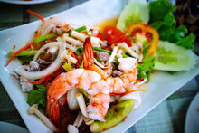 Spicy Jelly Noodle Salad With ...