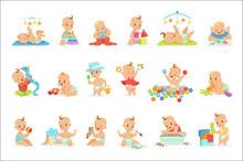Adorable Girly Cartoon Babies ...