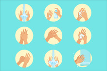Hands Washing Sequence Instruc...