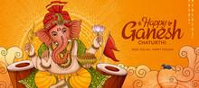 Happy Ganesh Chaturthi Banner