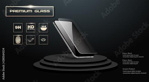Fototapeta Screen protector Glass