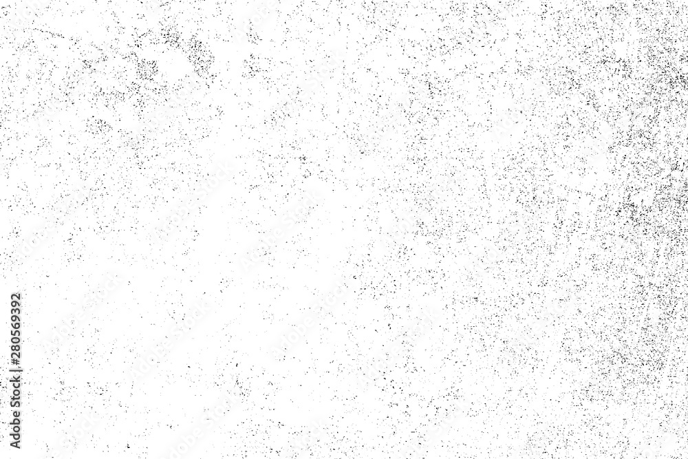 Fototapeta Dirty grunge background. The monochrome texture is old. Vintage worn pattern. The surface is covered with scratches.