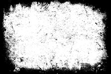 Grunge Texture Is Black And Wh...