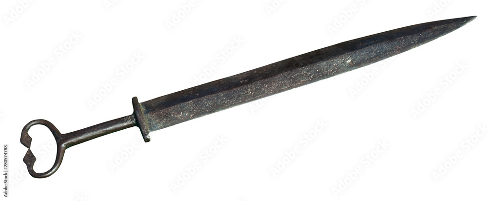 Fototapety, obrazy: Old wrought sword