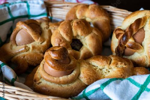 Fototapeta Cudduraci biscotti calabresi