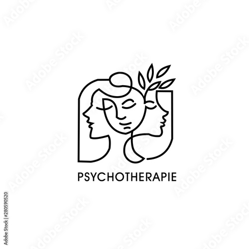 Fotografering Psychologia and pscotherapie design exclusive inspiration