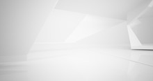 Abstract White Parametric Inte...