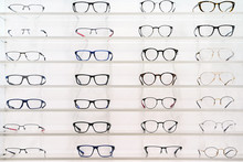 Stand With Glasses In The Stor...